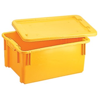 NPC PLASTIC CONTAINER 24L L494XW344XH210MM NSN111 Storage Boxes