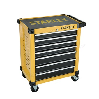 STANLEY 7 DRAWERS ROLLER CABINET 690LX426WX889H STST74306