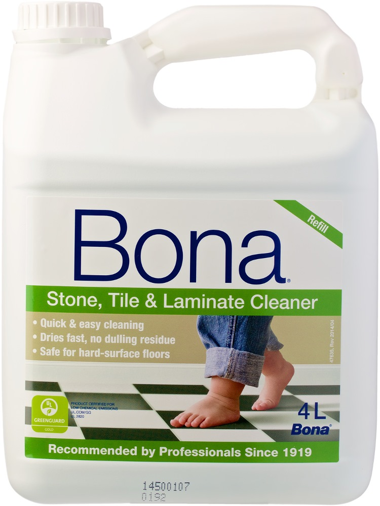 Bona Stone Tile Laminate Floor Cleaner Refill 4l Wm740219021
