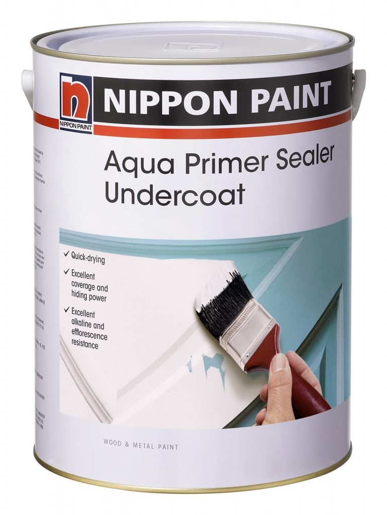 Paint And Primer >> Nippon Paint Aqua Primer Sealer Undercoat 1l Primers Sealers