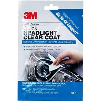 3M QUICK HEADLIGHT CLEAR COAT - PN39173