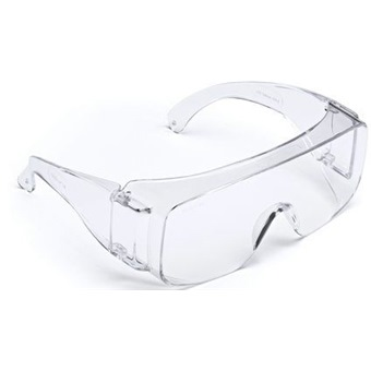 Clear Overglasses Protective Eyewear pack of 10 Industrial Safety Glasses & Goggles Business, Office & Industrial Supplies