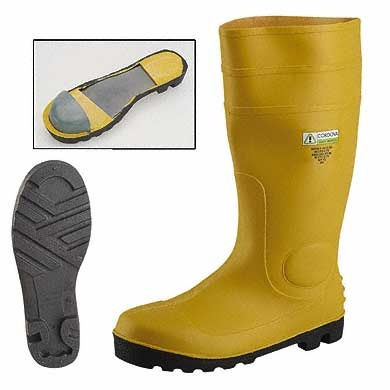 Pvc Safety Boot With Toe Cap Amp Midsole Safety Footwear