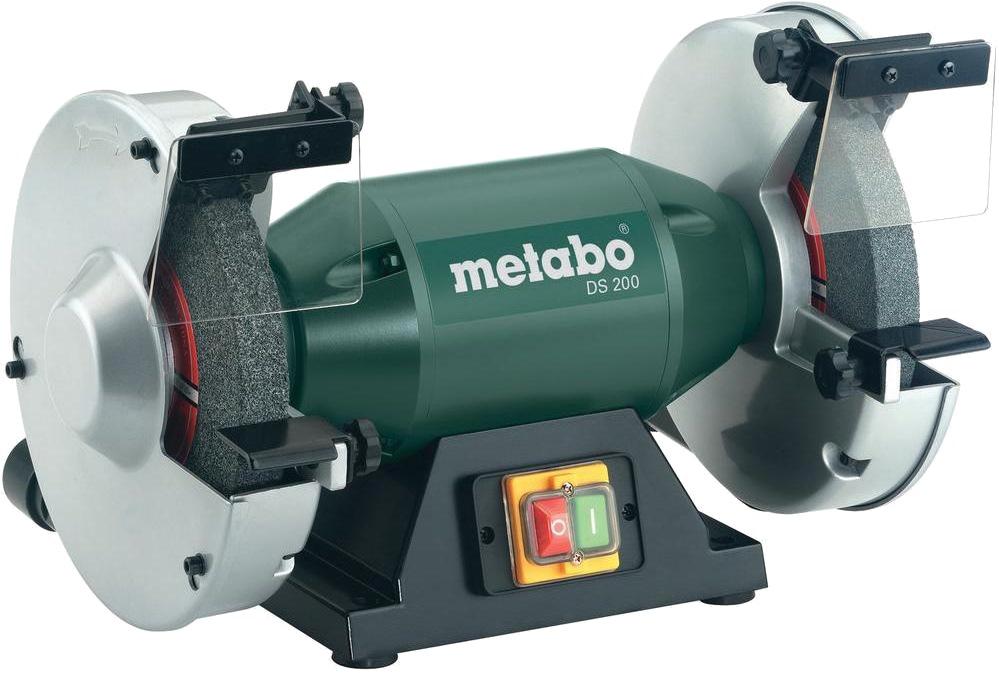 Metabo Bench Grinder 600w Ds200 Sanding Amp Grinding