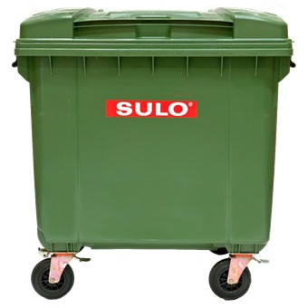 Sulo 660l 4 Wheel Plastic Mobile Garbage Bin Mgb660