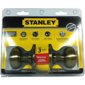 Stanley Cylinder Entrance Lock Olympus Ab S835967 Door