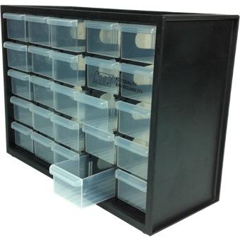 25 Drawer Part Cabinet M25d L303xb125xh223mm Tools