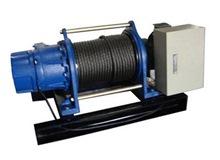 KIO ELECTIC WINCH W/BASE 2000KG 415V,14*100M ROPE, GG2000