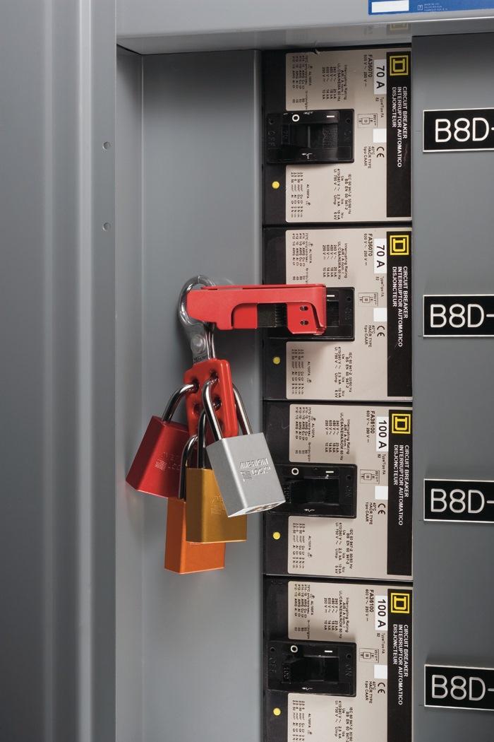 masterlock aluminium lockout hasp 1 u0026quot  round