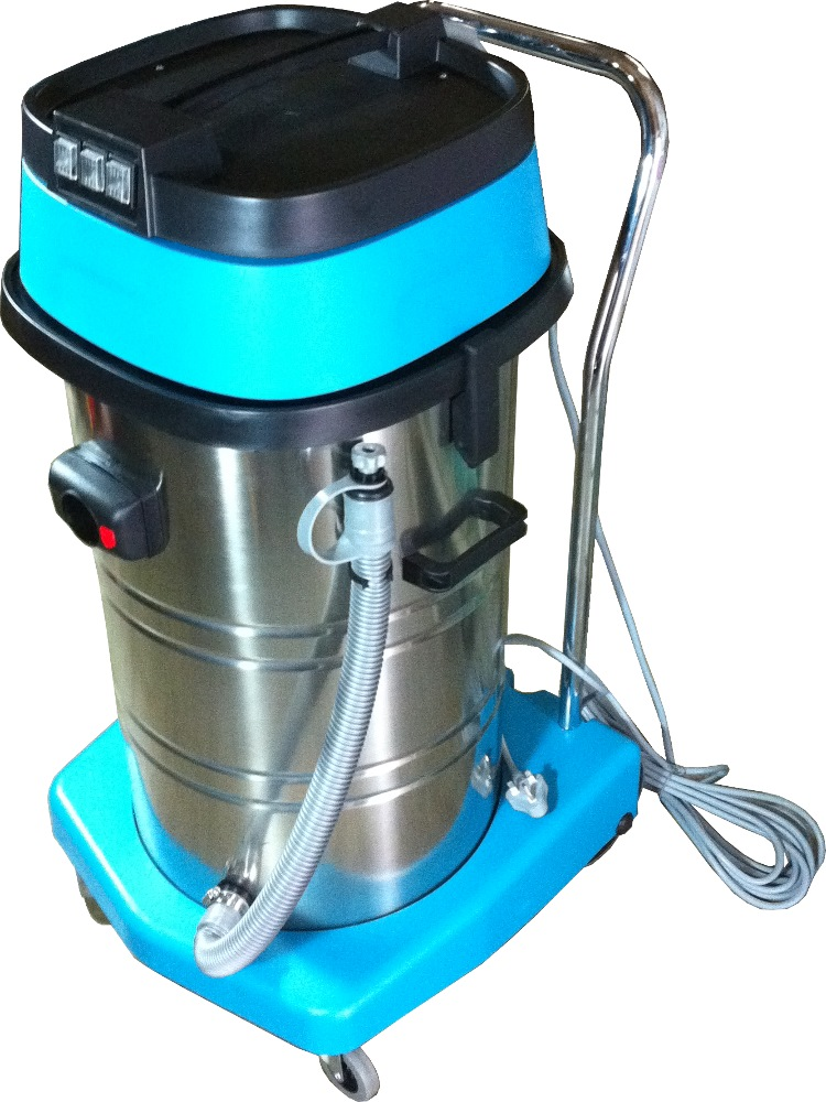 LICHI 80L S/S WET AND DRY VACUUM CLEANER 3 MOTOR- LC80/3