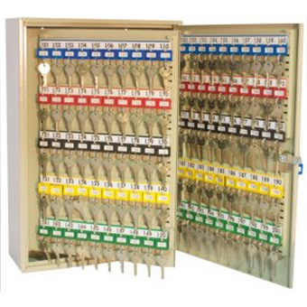 Secure Keycabinet W Key Tags Ts200 Key Cabinets Amp Letter