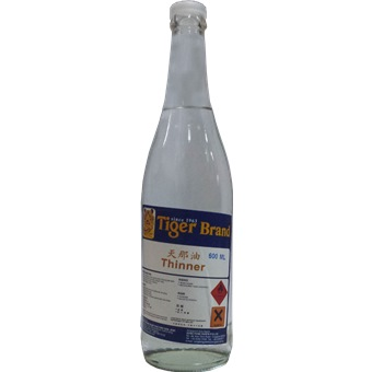 Tiger Thinner Bottle Paint Thinners Solvents