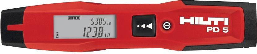 Hilti Laser Range Meter Pd5 Laser Measure Amp Inspection