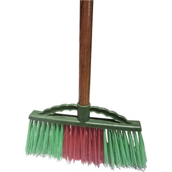 Nylon Hard Bristle Broom W Handle 303 Cleaning Tools