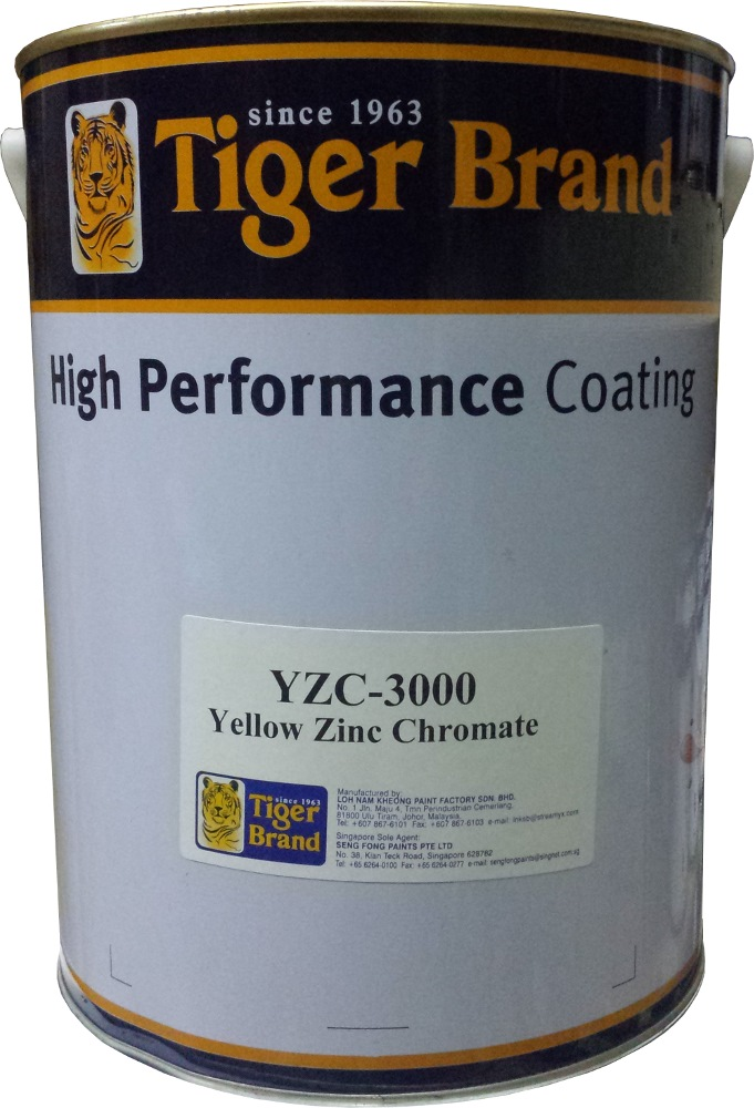 TIGER ZINC CHROMATE YELLOW 5 LTR