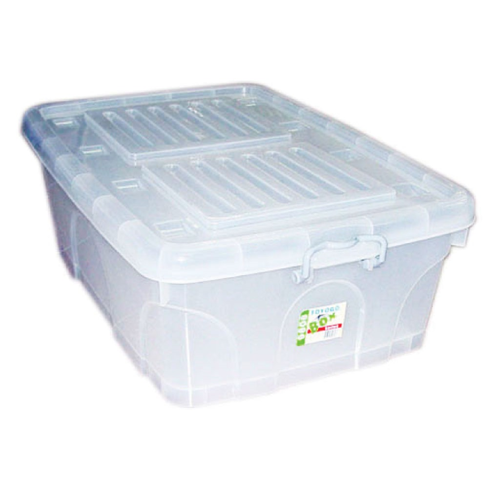 TOYOGO STORAGE BOX WITH COVER 110L -9808 | Storage Boxes ...
