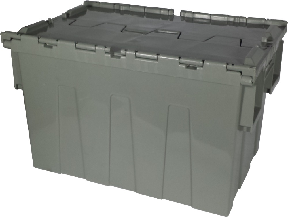 PLASTIC STORAGE BOX WITH LID (INDUSTRIAL SECURITY CRATE ...