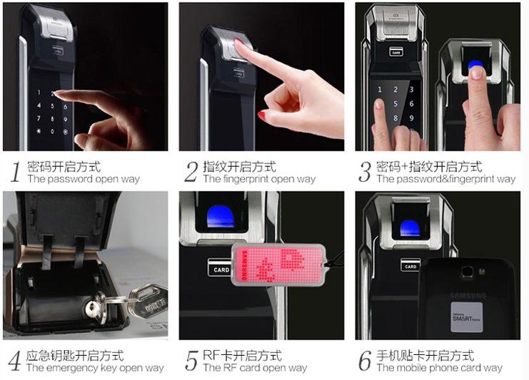 Samsung Digital Lock Mortise Handle Shs P718 Free