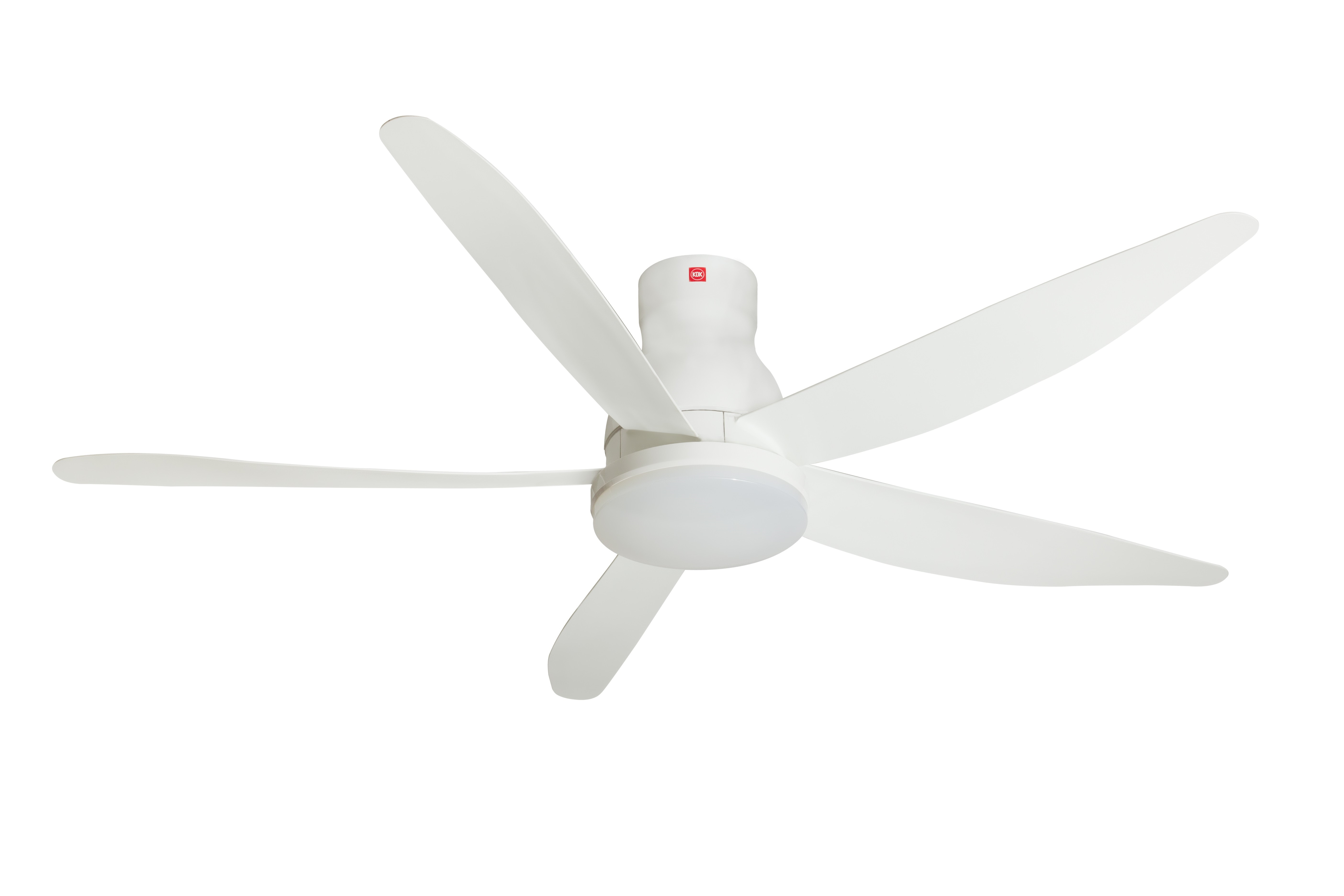 Kdk 5 Blade Ceiling Fan 150cm Led Lamp With Remote Control