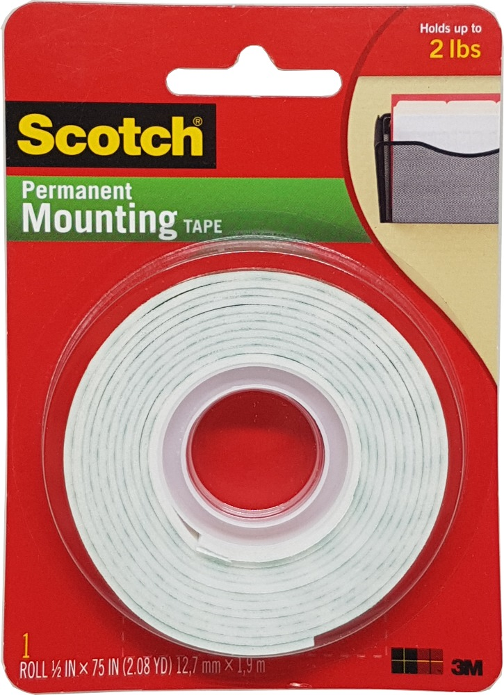 3m Scotch Mounting Tape 110 Adhesive Amp Industrial