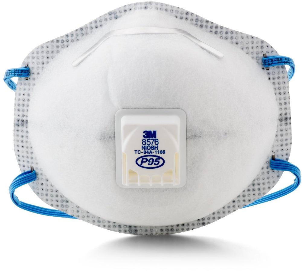 - 8576 P95 Respirator box 10pcs Mask 3m