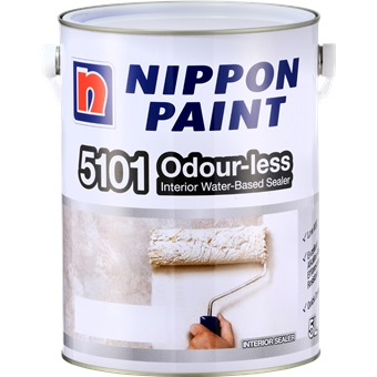 Nippon Paint 5101 Odourless Water Based Wall Sealer 5l