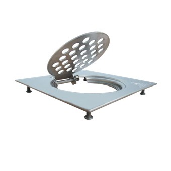 Showy Square Stainless Steel Grating 6 Quot W Stabiliser Pins