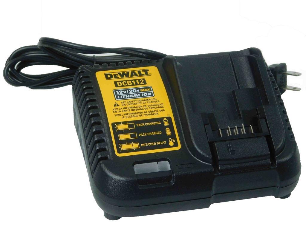 DEWALT BATTERY CHARGER,12V~20V MAX -110V, DCB112