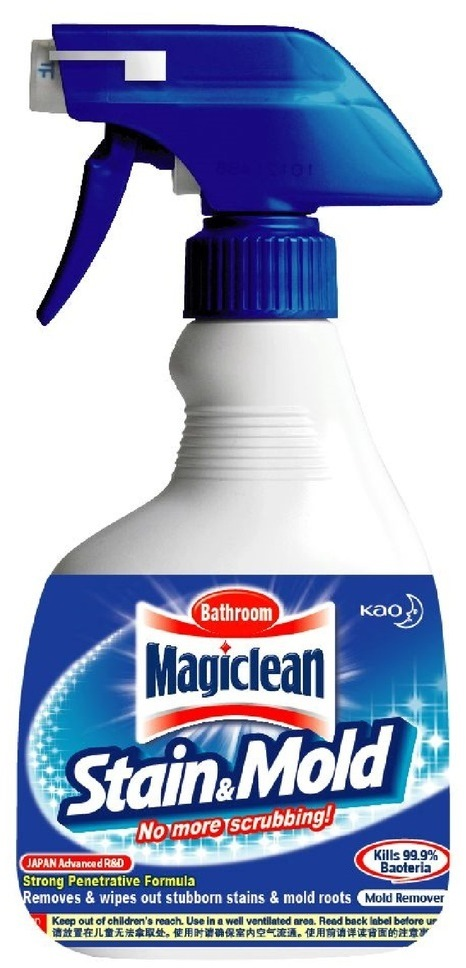 MAGICLEAN BATHROOM STAIN & MOULD REMOVER TRIGGER 400ML ...